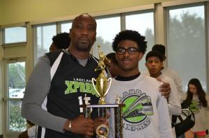 Tournament MVP Dexter Johnson
